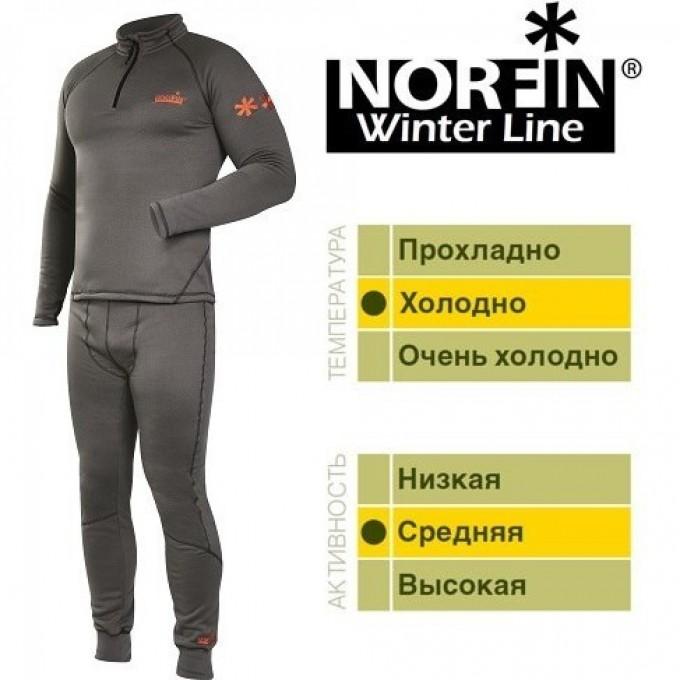 Термобелье NORFIN WINTER LINE GRAY 01 Р.s 3036001-S