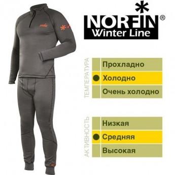 Термобелье NORFIN WINTER LINE GRAY 06 Р.xxxl