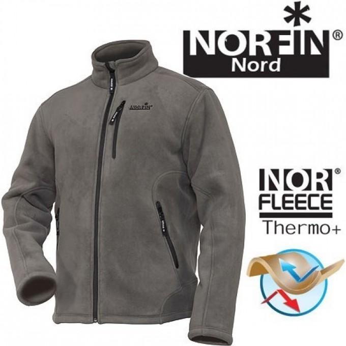 Джемпер Флисовый NORFIN NORTH GRAY Р.m 476102-M