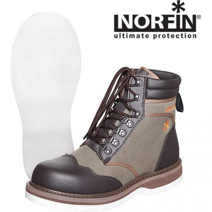 Ботинки забродные NORFIN WHITEWATER BOOTS Р.42 91245-42