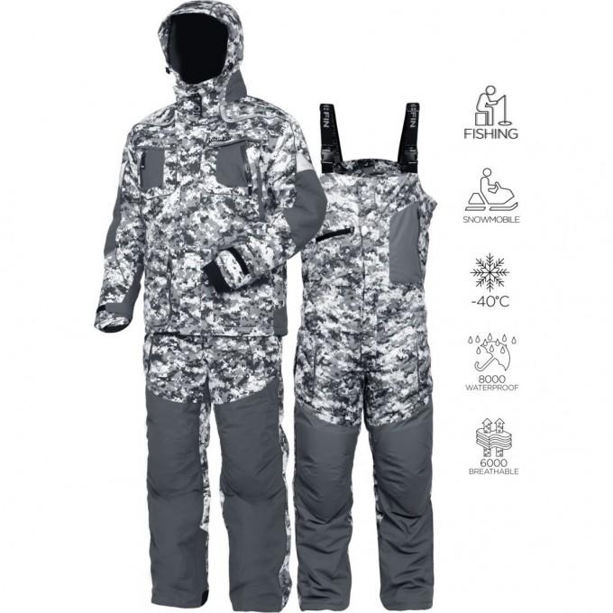 Костюм зимний NORFIN EXPLORER CAMO 01 р.S 340101-S