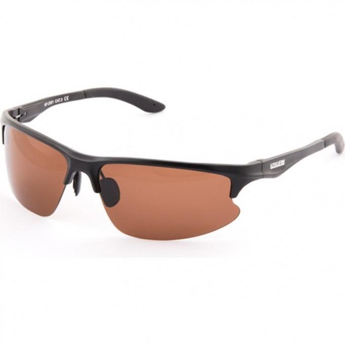 Очки поляризационные NORFIN линзы коричневые оправа алюминий 01 NF-2001