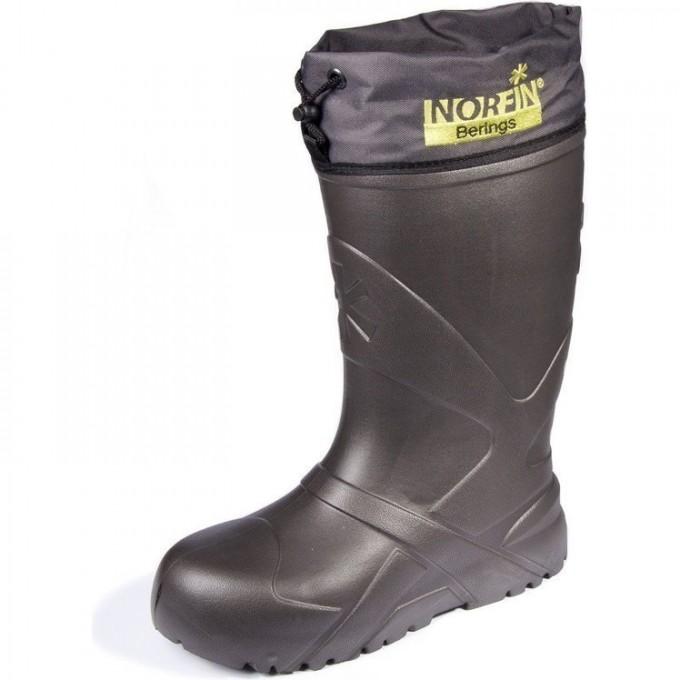 Сапоги зимние NORFIN BERINGS с манжетой антрацит -45С EVA р.40-41 14862-4041