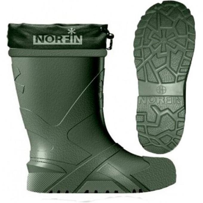 Сапоги зимние NORFIN BERINGS с манжетой олива -45С EVA р.44-45 14861-4445